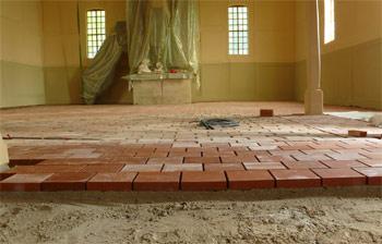 Fußboden Aus Ziegelsteinen ~ Alte ziegel fussboden » fußbodenaufbau verlegung alter backsteine